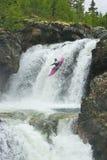Wasserfälle in Norwegen Lizenzfreies Stockfoto