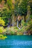 Wasserfälle in Plitvice Stockbilder