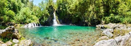 Wasserfälle Reunion Island Stockbilder