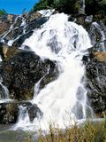 Wasserfälle in Swasiland Stockbild