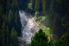 Wasserfälle von krimml/von Österreich stockfoto