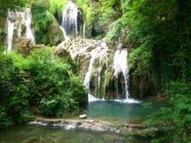 Wasserfälle von Krushuna lizenzfreies stockfoto