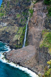 Wasserfälle von Seixal in Madeira Lizenzfreie Stockbilder