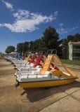 Wasserfahrräder Stockfotografie