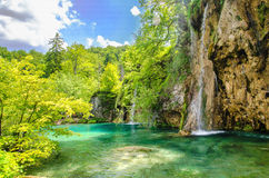 Wasserfall 5 Stockbild