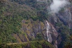Wasserfall an Adam'-Spitze - Sri Lanka Lizenzfreies Stockbild