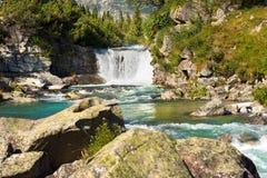 Wasserfall - Adamello Trento Italien Lizenzfreies Stockfoto