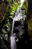 Wasserfall in Adrapach lizenzfreies stockbild