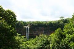 Wasserfall in Afrika Lizenzfreies Stockbild