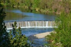 Wasserfall in Arezzo Lizenzfreie Stockfotografie
