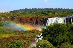 Wasserfall in Argentinien Lizenzfreies Stockbild