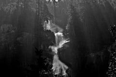 Wasserfall auf Briten Kolumbien in Kanada Stockbild