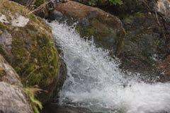 Wasserfall auf dem Fluss Lizenzfreies Stockbild