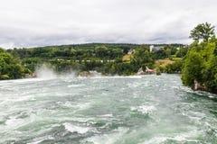 Wasserfall auf dem Rhein Lizenzfreies Stockfoto