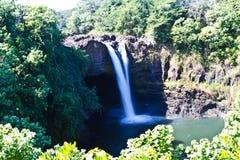 Wasserfall auf der großen Insel Lizenzfreie Stockbilder