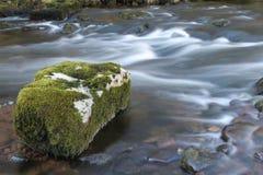 Wasserfall auf Fluss Stockbilder