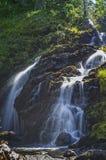 Wasserfall auf großartigem Nebenfluss im olympischen Nationalpark, Staat Washington Lizenzfreie Stockfotografie