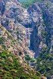 Wasserfall auf Mount Athos Stockbilder