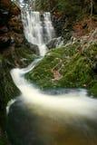 Wasserfall auf Nebenfluss Stockfotografie