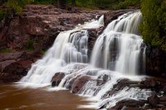 Wasserfall auf Stachelbeerfluß Lizenzfreies Stockbild