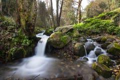 Wasserfall Barranco DOS Pisões stockbilder