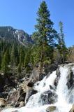 Wasserfall bei Grover Hot Springs Stockfotografie