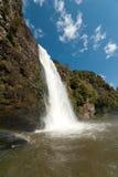 Wasserfall bei Hunua Lizenzfreies Stockfoto