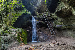 Wasserfall bei RAM-szakadek Lizenzfreies Stockbild