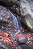 Wasserfall beim Wandern gefunden in Central Park lizenzfreie stockfotografie