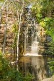 Wasserfall in Botswana stockfotografie