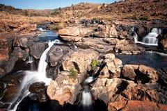 Wasserfall Bourkes an den Glück-Schlaglöchern Lizenzfreie Stockfotografie