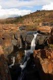 Wasserfall Bourkes an den Glück-Schlaglöchern Stockfotos