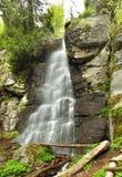 Wasserfall Bystre in Polana-Region, Slowakei stockbild