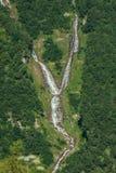 Wasserfall an den Grossglockner-moutains Stockfoto