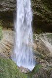 Wasserfall in den julianischen Alpen Lizenzfreie Stockfotos