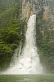 Wasserfall in der Sumidero Schlucht Lizenzfreie Stockbilder