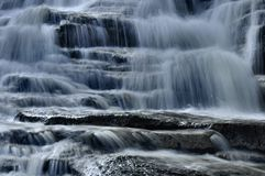 Wasserfall-Detail Lizenzfreies Stockfoto
