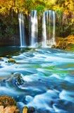 Wasserfall Duden in Antalya die Türkei Lizenzfreies Stockfoto