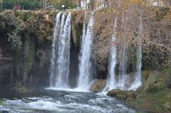 Wasserfall duden selale Truthahn Lizenzfreie Stockfotos