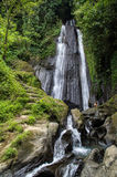 Wasserfall Dusun Kuning in Bali Stockbilder