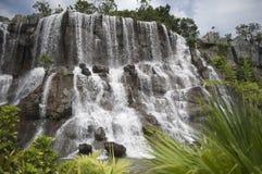 Wasserfall eingefroren im OKT OstShenzhen Stockfotos
