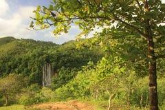 Wasserfall EL Limon Stockfoto