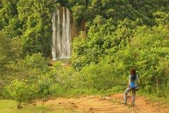 Wasserfall EL Limon Stockfotografie