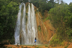 Wasserfall EL Limon Stockbild