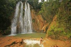 Wasserfall EL Limon Lizenzfreie Stockbilder