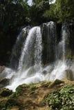 Wasserfall EL Nicho, Kuba Stockbilder