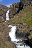 Wasserfall Fardagafoss Lizenzfreies Stockbild
