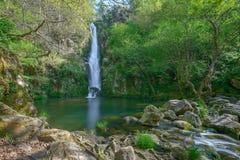 Wasserfall in Galizien stockbilder