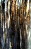 Wasserfall gefangen genommen mit Bewegungsunschärfe und durch reflektierte Farbe vom Sonnenuntergang belichtet Stockfoto