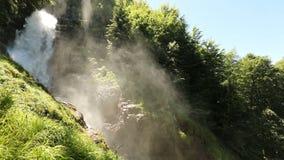 Wasserfall Giessbach, Bernese Oberland, die Schweiz stock footage